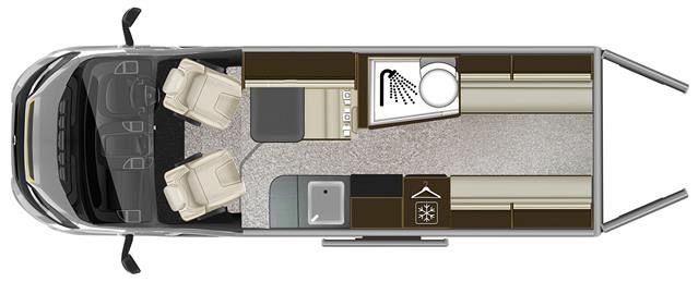 Tribute 670 VAN Layout