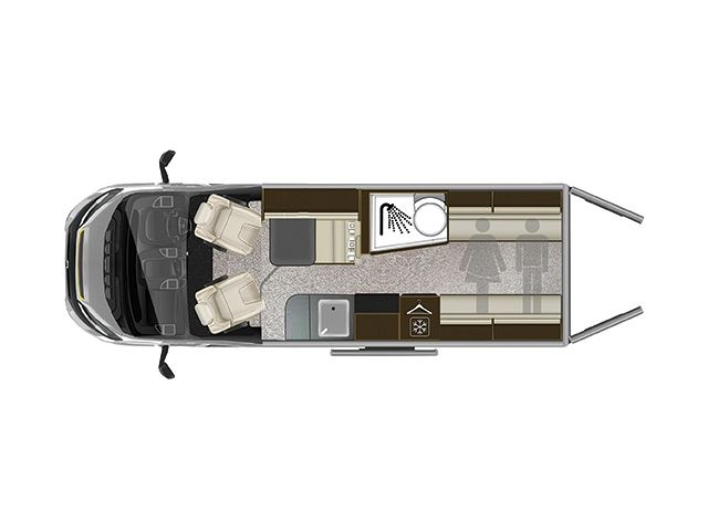 Tribute 669 Van Layout