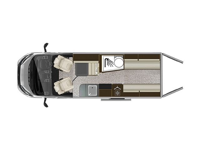 Tribute 680 Van Layout